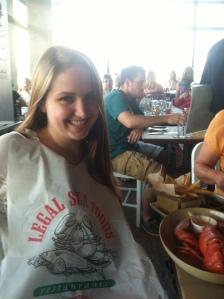 Me at Legal Seafood