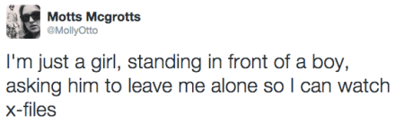 X-Files Tweet