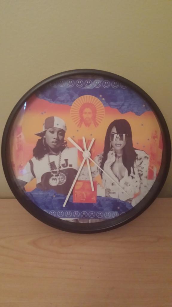 Missy Elliott & Aaliyah Clock