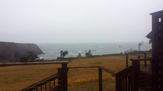 Our Mendocino view